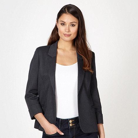 Principles by Ben de Lisi - Designer navy spotted blazer