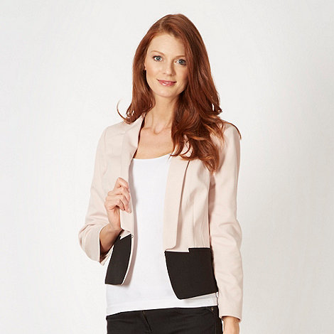 Principles by Ben de Lisi - Designer rose colour block jacket