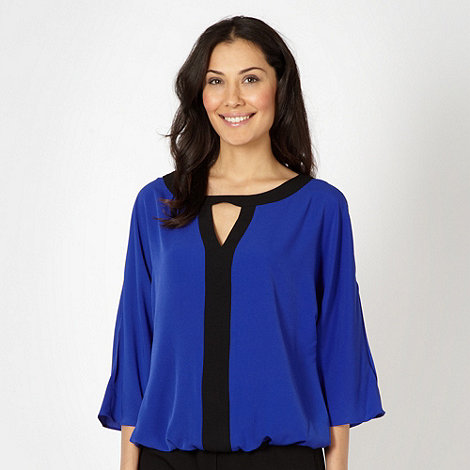 Principles by Ben de Lisi - Designer royal blue blouson top
