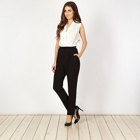 Principles by Ben de Lisi - Designer black tailored jumpsuit