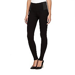 Principles by Ben de Lisi - Designer black slim and trim leggings