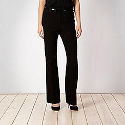 Principles by Ben de Lisi - Black belted suit trousers