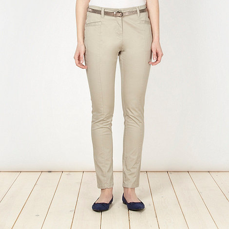 Principles by Ben de Lisi - Designer natural cargo trousers
