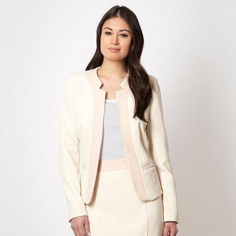 Principles by Ben de Lisi - Designer cream colour block jacket