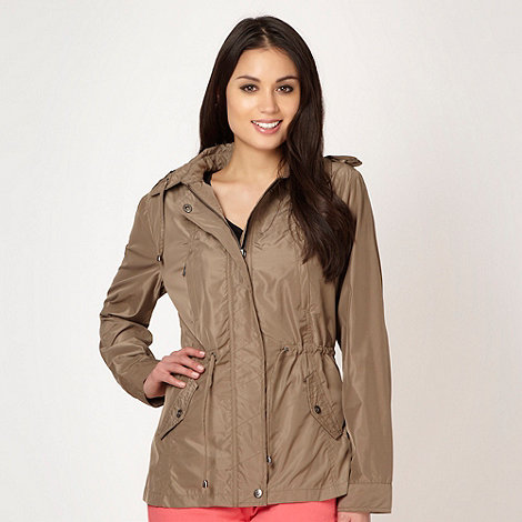 Principles by Ben de Lisi - Designer light brown parka jacket