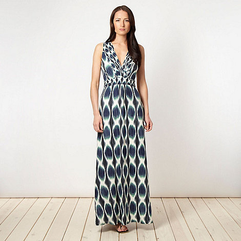 Principles by Ben de Lisi - Designer blue blur maxi dress