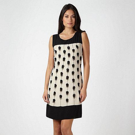 Principles by Ben de Lisi - Online exclusive - Designer cream applique spotted dress