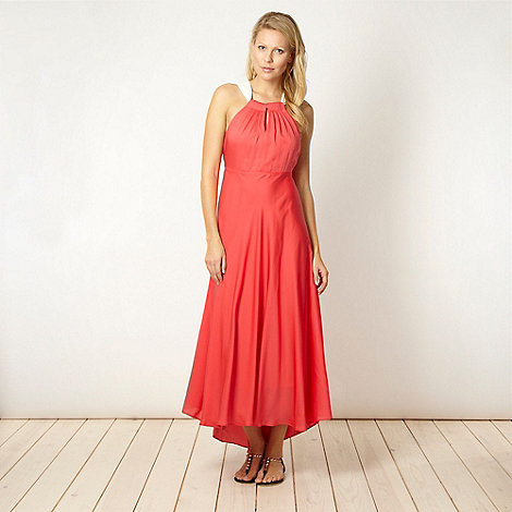 Principles by Ben de Lisi - Designer coral maxi dress