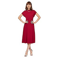 Principles by Ben de Lisi - Dark pink midi tea dress