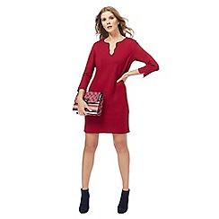 Principles by Ben de Lisi - Dark red mini tunic dress