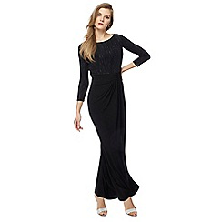 Principles by Ben de Lisi - Black full length evening dress