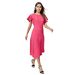 Principles by Ben de Lisi - Bright pink midi tea dress