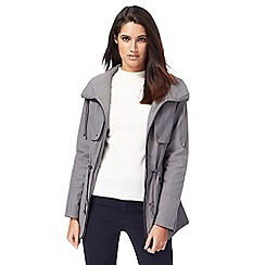Principles Petite by Ben de Lisi - Grey utility jacket