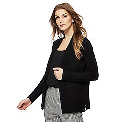 Principles by Ben de Lisi - Black textured trim cardigan