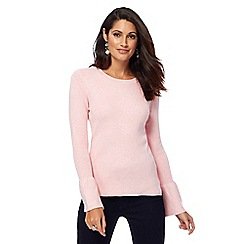 Principles by Ben de Lisi - Pink bell sleeves jumper