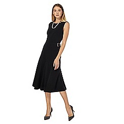 Principles by Ben de Lisi - Black midi length shift dress