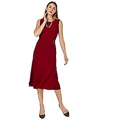 Principles by Ben de Lisi - Red midi length shift dress