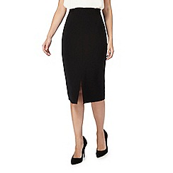 Principles Petite by Ben de Lisi - Black pencil petite skirt