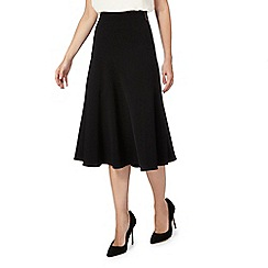 Principles Petite by Ben de Lisi - Black wrap suit skirt