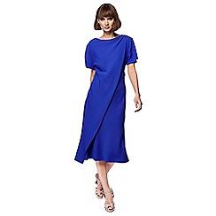 Principles - Blue midi tea dress