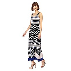 Principles - Multi-coloured striped maxi dress