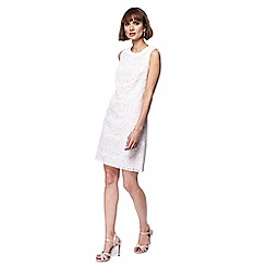 Principles - Ivory lace mini shift dress