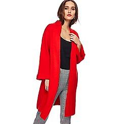 Principles by Ben de Lisi - Red knitted coatigan