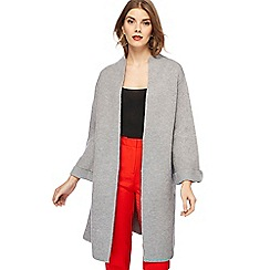 Principles - Grey knitted coatigan