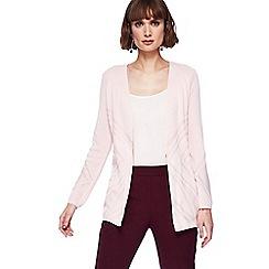Principles - Pale pink edge to edge cardigan