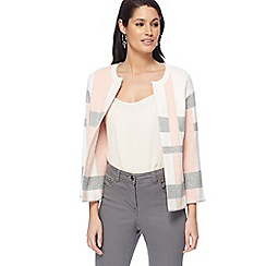 Principles - Multicoloured block stripe cardigan