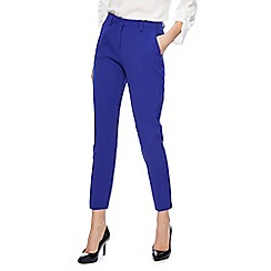 Principles Petite - Royal blue tapered trousers