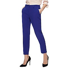 Principles - Bright blue tapered trousers