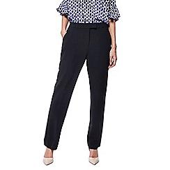 Principles - Black straight leg suit trousers