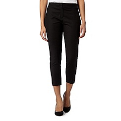 Principles by Ben de Lisi - Designer black seam detail cropped trousers
