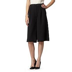 Principles by Ben de Lisi - Designer black crepe shorts