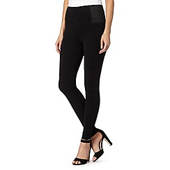 Principles by Ben de Lisi - Designer black elasticated leggings