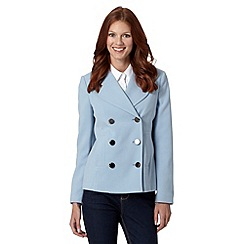 Principles by Ben de Lisi - Designer light blue crepe jacket