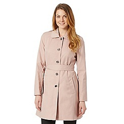 Principles by Ben de Lisi - Designer light pink single breasted mac coat