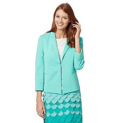 Principles Petite by Ben de Lisi - do not load - Petite designer bright green textured blazer