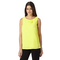 Principles by Ben de Lisi - Designer bright yellow bow top
