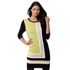 Principles by Ben de Lisi - Designer light green knitted tunic