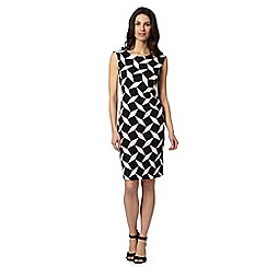 Principles by Ben de Lisi - Designer black harlequin dress