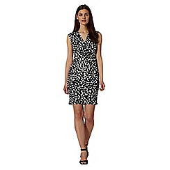 Principles by Ben de Lisi - Designer black spot print dress