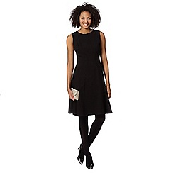 Principles by Ben de Lisi - Designer black midi skater dress