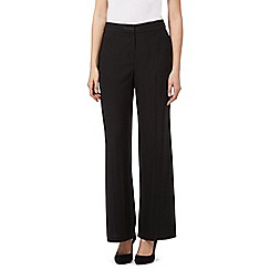 Principles by Ben de Lisi - Black crepe satin trousers
