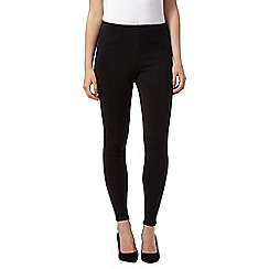 Principles by Ben de Lisi - Designer black stitch detail leggings
