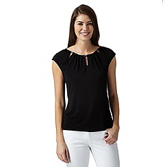 Principles by Ben de Lisi - Designer black keyhole top