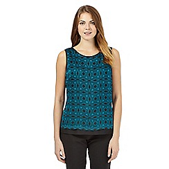 Principles Petite by Ben de Lisi - Turquoise tiled shell top