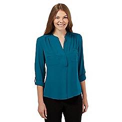 Principles by Ben de Lisi - Turquoise utility shirt