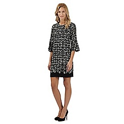 Principles by Ben de Lisi - Designer black diamond print dress